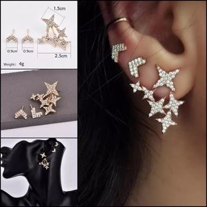 NWT Star earrings set of three